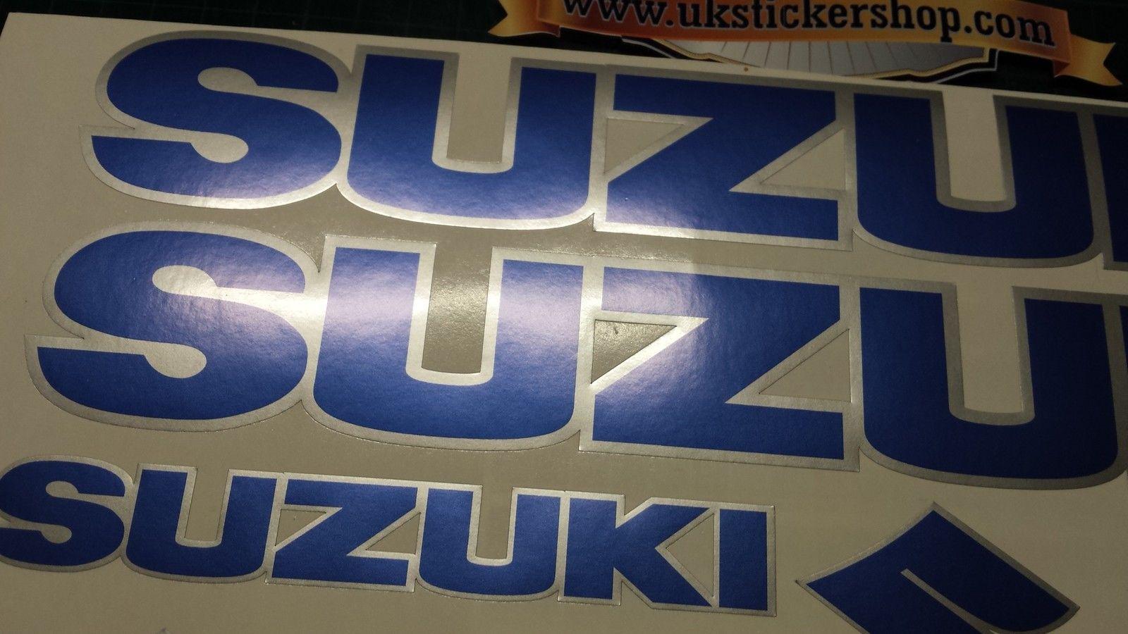 Stickers v strom - Suzuki Decals Stickers Blue Amp Silver Gsx Vstrom Bandit Gsf